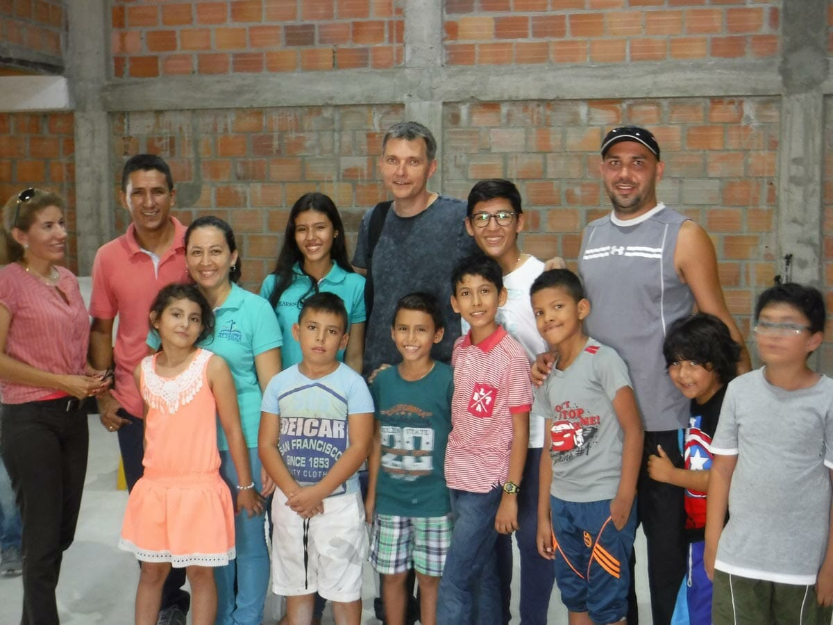 Dr. Aleksey and local community at DTML event