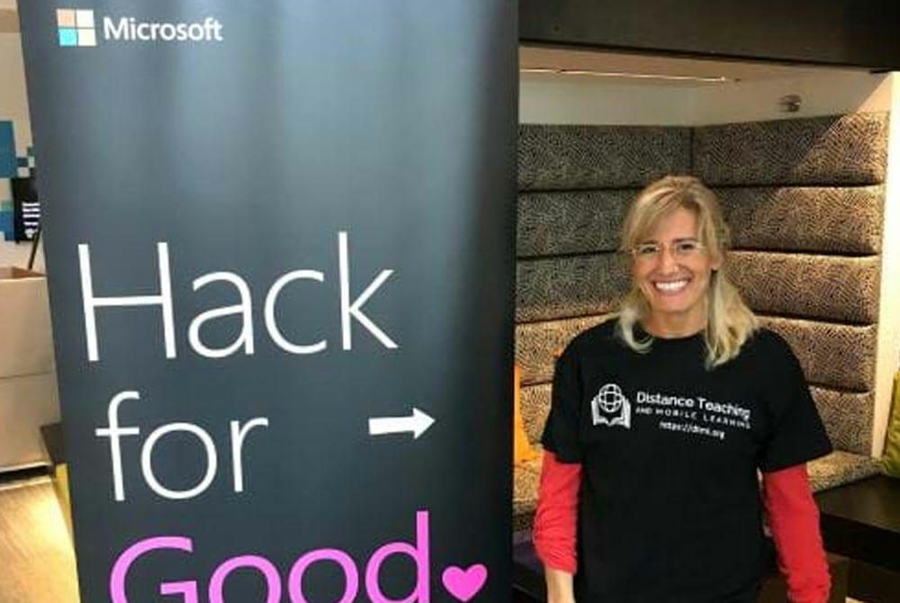 Co-founders of JAAS Foundation Hack for Good event