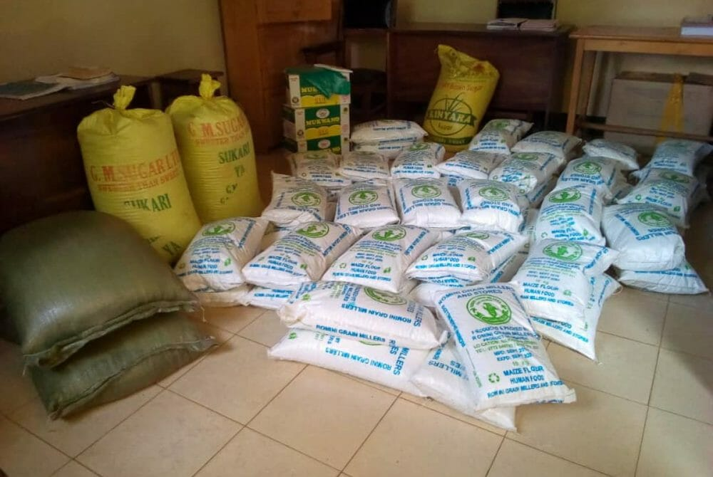 Picture of JAAS Foundation donates flour and sugar