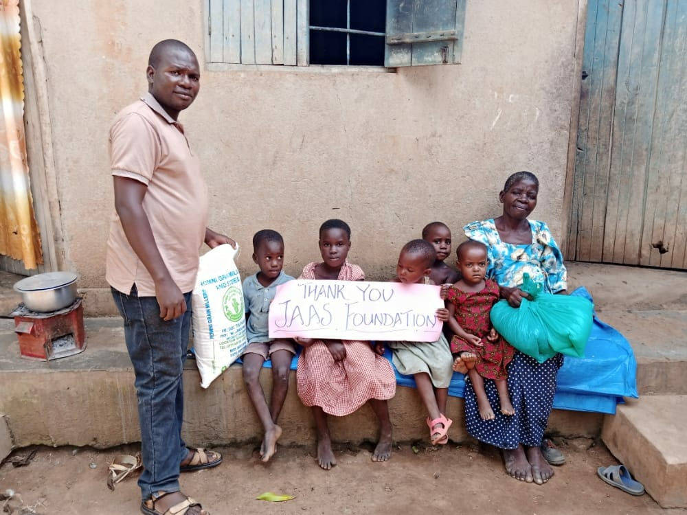 Family thank you to the JAAS Foundation