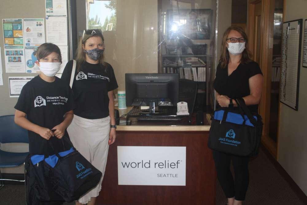 JAAS Foundation Donates laptops to World Relief organization